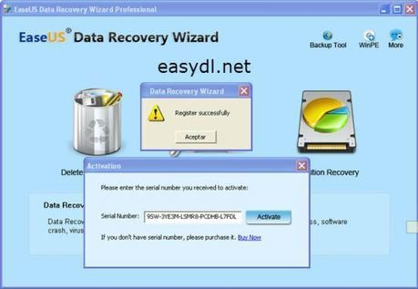 Easeus Recovery Wizard 10 5 Full