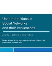 User Interactions in Social Networks and their Implications | Social Network Analysis #sna | Scoop.it