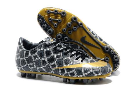 size 40 d9559 651b6 Pas cher Nike Mercurial Vapor XI CR FG Bottes Serpent Gris Jaune 140107-011  sur Vente