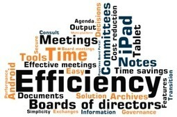 A paperless board : how to enhance efficiency of your meetings | Governance and Boards | Scoop.it