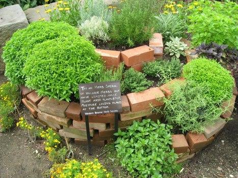 Spiral Herb Gardens | Bloomfield Hills Schools | Scoop.it