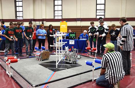 FIRST® Robotics Eastern Regional Qualifier Returns to MCCC Campus | STEM Advocate | Scoop.it