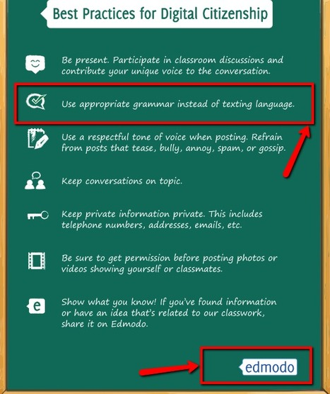 Digital Citizenship Poster Now Available in 7 Languages (EN, FR, DE, PT, NL, ES, GR) | Library Tips and Tricks | Scoop.it