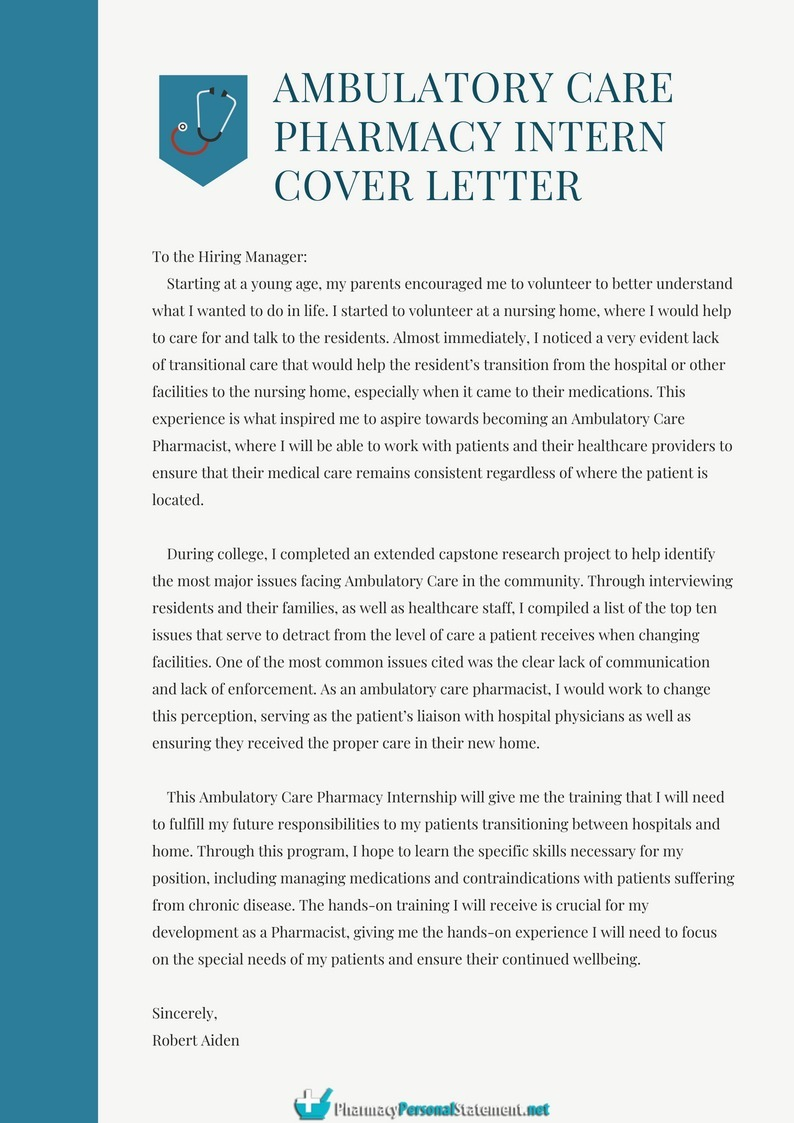 Cover Letter Template Pharmacist Free Resume Templates