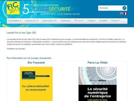 Lauréats Prix du livre Cyber 2013   Information security   Scoop.it