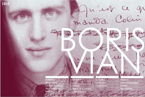 Boris Vian:  Dossiers pédagogiques et Ressources audiovisuelles | Languages in the UK | Scoop.it