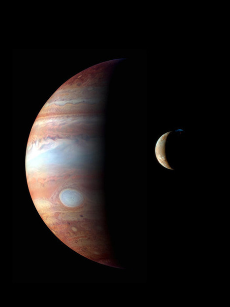 Stunning Jupiter and Io picture: here's the scoop | Bad Astronomy | Discover Magazine | Wonderful world of science | Scoop.it