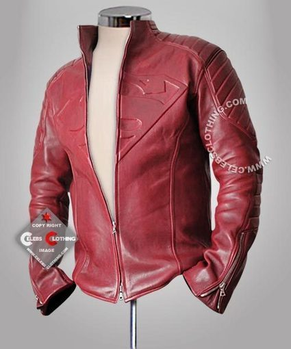 Superman Smallville Real Leather Jacket | Superman Man of Steel Costume | Scoop.it