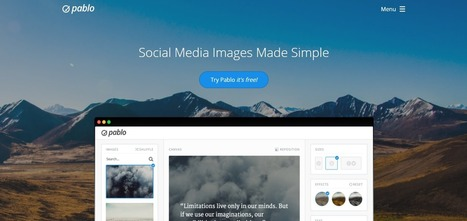 6 Simple Tools to Create Images for Social Media Platforms | Digital Marketing & Social Networking | Scoop.it