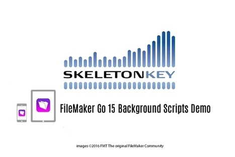 FileMaker Go 15 Background Scripts Demo - FileMaker Today - The Original FileMaker Forum & Community | All things Filemaker  Go | Scoop.it