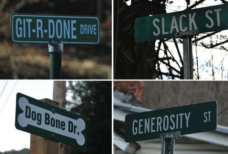 Where the Streets Have No Name   Geography Education   Scoop.it