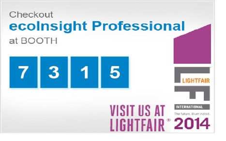 Going to Lightfair 2014? Discover How To Win More Retrofit Business With ecoInsight's Energy Upgrade Sales Tools. | ecoInsight Announcements | Scoop.it