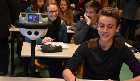 Des robots dans les lycées ! | Veille, Intelligence économique, et stratégique | Scoop.it