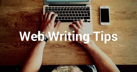 Web Writing Tips for Better Blogposts and Social Media Posts | Blog Startup | Scoop.it