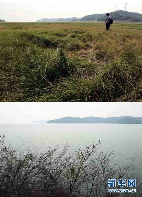 Sécheresse: le plus grand lac d'eau douce de Chine est devenu une vaste prairie   Regarder le ciel   Scoop.it