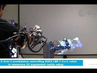X-Arm-2 Exoskeleton And Kuka Lwr Demo In 3D Augmented Reality | Exoskeleton Systems | Scoop.it