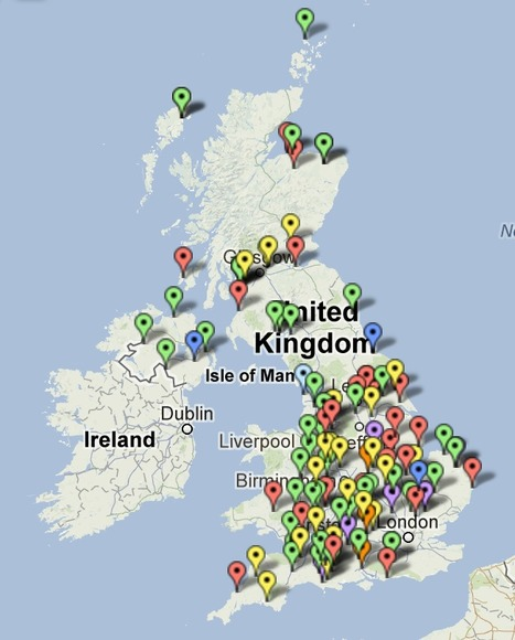 Anaerobic Digestion Plant Map - anaerobic digestion & biogas | Biocarburants et biogaz | Scoop.it