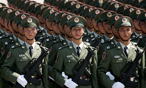China's growing soldiers struggle to fit in tanks | China Commentary | Scoop.it