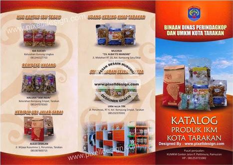 Contoh Brosur Makanan Restaurant Desain Log