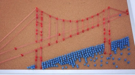 Incredibly Creative Stop-Motion Film Made with Only Rubber Bands & Thumbtacks | creativity101 | Scoop.it