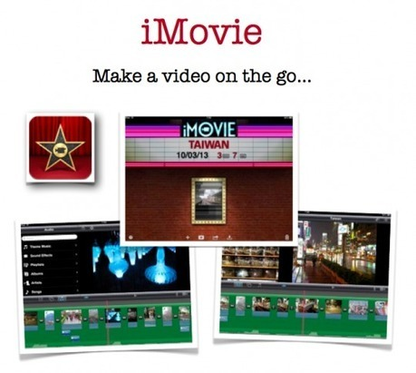 Guide to iMovie on the iPad | Nos vies aujourd'hui - Our lives today | Scoop.it