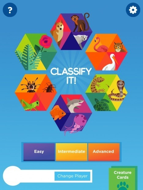 Classify It! - A Fun App for Learning to Classify Plants and Animals - iPad Apps for School | Tablets in de klas | Scoop.it