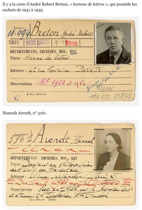 La BNF retrouve les CARTES de LECTEUR d'André Breton, Aimé Césaire ou Hannah Arendt | Le BONHEUR comme indice d'épanouissement social et économique. | Scoop.it