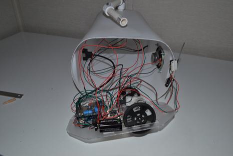 Talkbot: an Arduino-driven robot for beginners | Arduino, Netduino, Rasperry Pi! | Scoop.it