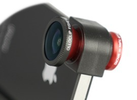 Go Wide, Fish-Eye and Macro With Only One Adaptor For Your iPhone 4: The olloclip   Online Video Publishing   Scoop.it