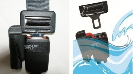 Water-Activated Seat-Belt Release Could Prevent Drowning Deaths | Autopia | Wired.com | Tech News watch | Scoop.it