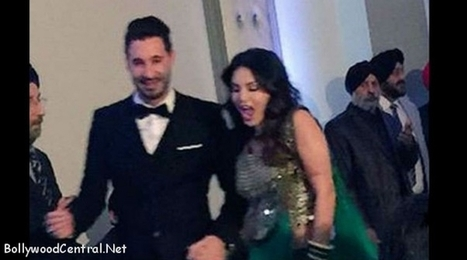 Exclusive Pics Sunny Leone Daniel Weber Set The Dance Floor On Fire At Family Wedding In Toronto