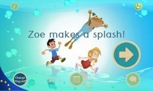 Zoe makes a splash! Free Environment App + eBook | Current Updates | Scoop.it