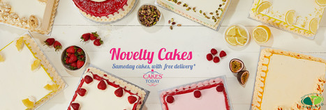 Order Best Baked Novelty Cakes Online By Today