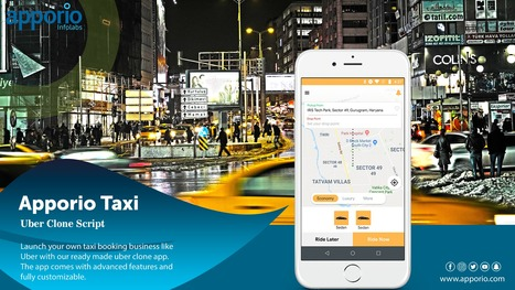 Apporio Taxi Booking Mobile App – The Ube