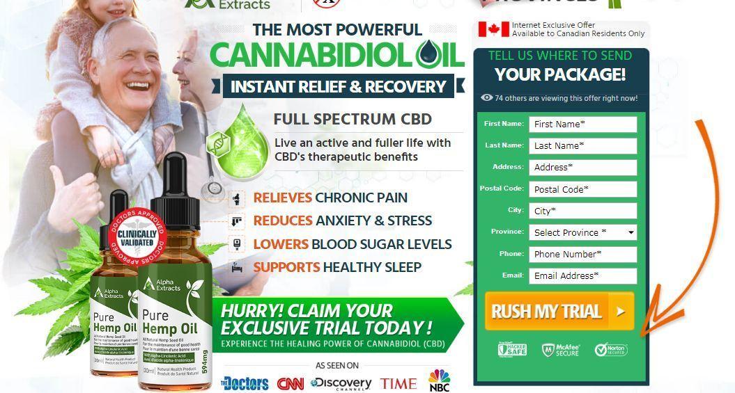Alpha Extract CBD Oil Canada | Scoop.it
