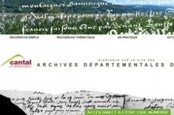 Les registres inédits restitués au Cantal sont en ligne | Généalogie et histoire, Picardie, Nord-Pas de Calais, Cantal | Scoop.it