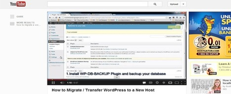 How to Migrate a Wordpress Website to a New Host | Nine0Media | Wordpress Web Design | Scoop.it