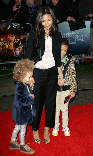 Celebrity for the World: Pregnant, for third time, Thandie Newton shows off at the Toronto Film Festival | Celebrity for the world | Scoop.it