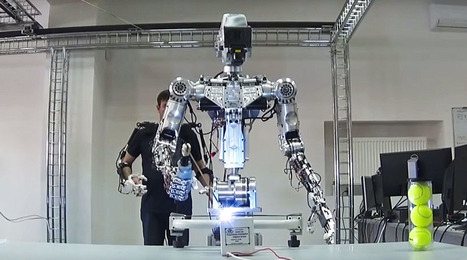 Russian space robot offers look at 'Terminator' style military droids | Robots and Robotics | Scoop.it