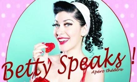 Yagg vous offre des places pour «Betty Speaks!» à Toulon   Yagg   Actu LGBT   Scoop.it