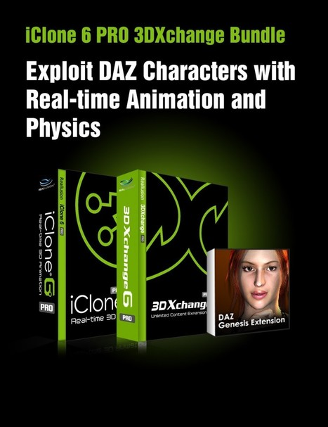 iClone 6 PRO 3DXchange Bundle | 3d Models | Sc