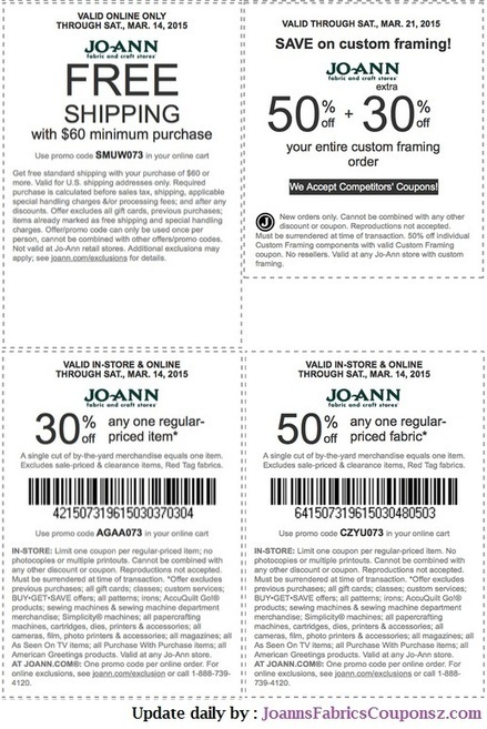 joann fabrics coupons | Scoop it
