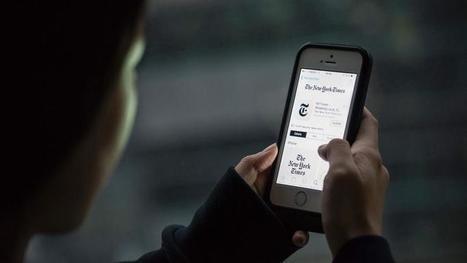 Apple censure l'application du New York Times en Chine | DocPresseESJ | Scoop.it