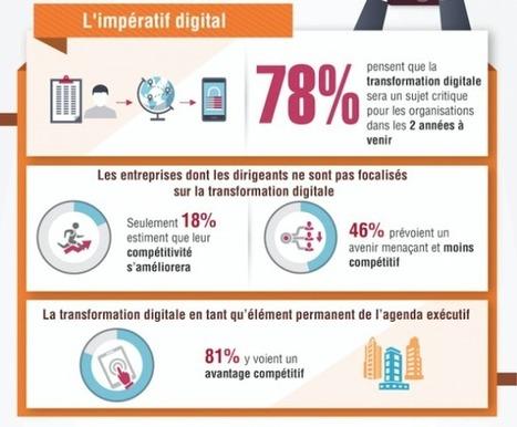 La transformation digitale résumée en 6 infographies | l'Observatoire digital des entreprises | Social Media and E-Marketing | Scoop.it