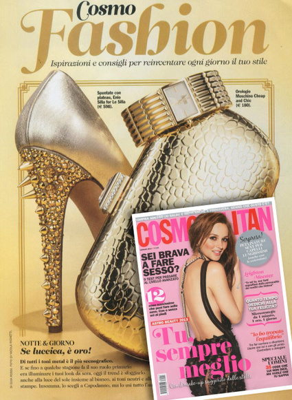 Le Silla  on the cover of Cosmofashion by Cosmopolitan Italy | FASHION & LIFESTYLE! | Scoop.it