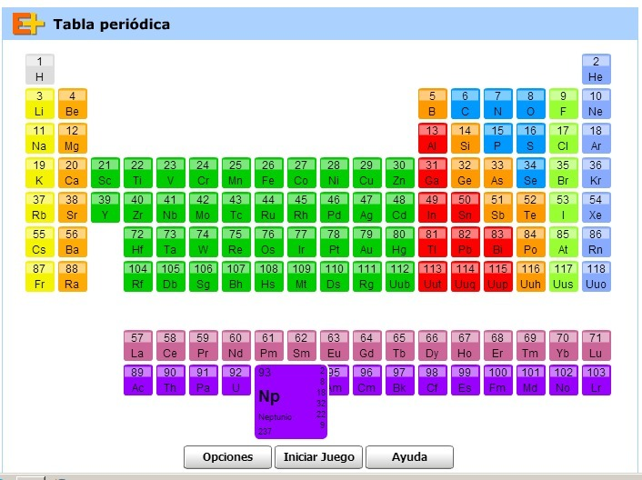 Tabla peridica elementos educaplus tabla peridica elementos educaplus urtaz Images