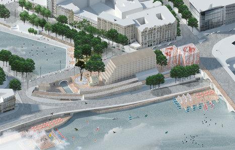 """""""Réinventer la Seine"""" : des projets étonnants en compétition   Le Grand Paris sous toutes les coutures   Scoop.it"""