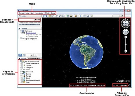 Eduteka - Google Earth en la Clase de Geografía | Geografía del mundo | Scoop.it