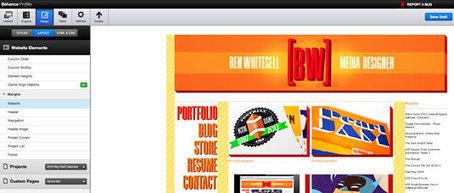 Create a portfolio website using Behance ProSite | Portfolios | Creative Bloq | Designer's Resources | Scoop.it