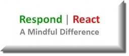 A Mindful Difference: Respond vs React - Thin Difference | Mindfulness Unbound | Scoop.it